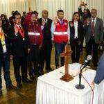 Gobernador de Apurímac juramentó al Comité Regional de Seguridad Ciudadana
