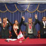 Vicegobernador Henry León participa en juramentación de prefecta de Apurímac