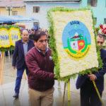 Gobierno regional homenajea al Tayta Arguedas por sus 108 años de natalicio