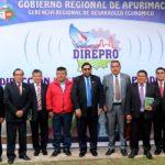 Gobernador participa de posesión al cargo del director regional de la Producción