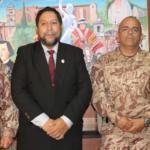 GOBERNADOR DE APURÍMAC RECIBE SALUDO INSTITUCIONAL DE LA 5ta BRIGADA DE MONTAÑA DEL CUSCO