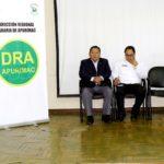 Vicegobernador inaugura Taller informativo sobre Siembra y Cosecha de Agua