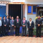 Vicegobernador Regional participa en ceremonia de izamiento del pabellón nacional y bandera de Apurímac