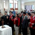 Gobernador Regional juramentó como presidente de la plataforma regional de Defensa Civil