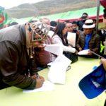 Baltazar Lantarón participó en Mesa de Diálogo con autoridades del gobierno central en Challhuahuacho
