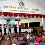 Gobierno Regional de Apurímac homenajeó a mamás por su día