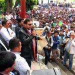 Gobernador Regional de Apurímac se pronuncia en paro regional agrario