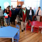 Gobernador regional inaugura institución educativa inicial de Ccocha en Curahuasi