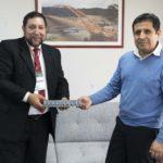 Gobernador regional gestiona construcción de puentes para Apurímac ante Provias Descentralizado del MTC