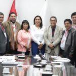 Consejo Directivo de la ANGR se reunen con la Ministra de Educación