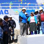 Gobernador de Apurímac inauguró represa Yauriccocha en Abancay