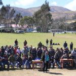 Gobernador de Apurímac concreta obras en el centro poblado de Chanpaccocha de San Jerónimo - Andahuaylas