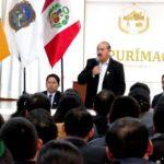 Gerente General se presentó ante funcionarios y servidores del Gobierno Regional