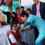 Gobernador exhorta a padres de familia de Apurímac a vacunar a sus hijos contra el sarampión
