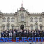 Gobernador Baltazar Lantarón asistió a clausura de Gore Ejecutivo en Palacio de Gobierno