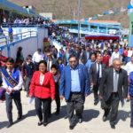 Gobierno regional entrega moderna infraestructura y equipamiento de la I.E. Industrial de Abancay