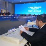 Gobernador Regional Baltazar Lantarón participa del 11° Gore Ejecutivo en Lima
