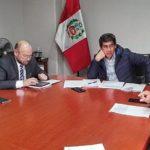 Baltazar Lantarón: Comisión de Ministerio de Transportes evaluará puntos críticos del corredor minero