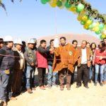 Gobierno Regional inaugura construcción de caminos vecinales a zonas agrícolas de Pacobamba en Andahuaylas