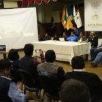 COER-Apurímac se declara en sesión permanente por emergencia del fenómeno natural en el cerro Chamanayoc - Huancarama