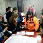 Grupo de trabajo del riesgo de desastres del Gobierno de Apurímac toman acuerdos ante polvareda en Abancay