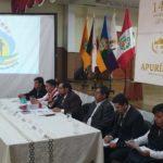 COER Apurímac presenta informe técnico sobre emergencia en Abancay en conferencia de prensa