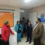 Gobernador visita in situ estado situacional del centro de salud en Cocharcas