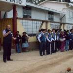 Gobierno regional y municipalidad de Tamburco continúan obras de pistas y veredas