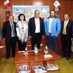 Gobernador Baltazar Lantarón y rector de la UTEA Ramiro Trujillo unen esfuerzos para el licenciamiento institucional