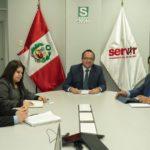 SERVIR brindará asistencia técnica a gestores de Recursos Humanos de 28 unidades ejecutoras del Gobierno de Apurímac