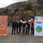 Gobernador de Apurímac inaugura obra de mantenimiento mecanizado del tramo carretero desvío Lambrama - Taccata - Molino en Grau
