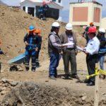 Gerente General Regional supervisa obras de instituciones educativas en Abancay