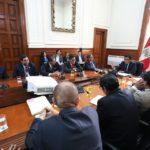 Gobernador Lantarón participó en reunión de trabajo convocada por flamante premier, Vicente Zevallos