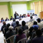 Gobernador de Apurímac y Provias Descentralizado informan sobre carretera Ramal Pacucha, en Andahuaylas