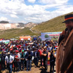 En Pampachiri - Andahuaylas, Gobernador Baltazar Lantarón, inició campaña de plantación de un millón de árboles en Apurímac