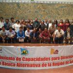 Apurímac: docentes y directores de Escuelas Básica Alternativa participaron en Taller de capacitación en Abancay