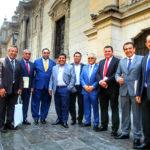 Gobernador Lantarón participó en reunión convocada por Presidente Vizcarra