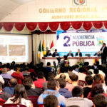 Baltazar Lantarón informó avances de su gestión durante Segunda Audiencia Pública Regional en Abancay