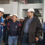 Autoridad regional supervisa construcción del nuevo hospital de Chalhuahuacho en Cotabambas