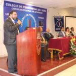 Juramentan a nueva directiva del Colegio de Periodistas del Perú, Consejo Regional de Apurímac