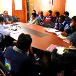 Sindicato de Construcción Civil de Apurímac saluda ejecución de obras del Gobierno Regional