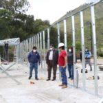 Gobierno Regional construye ambientes temporales para atención de pacientes con COVID-19 en Apurímac