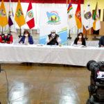 En conferencia de prensa Gobernador de Apurímac despejó falsas informaciones sobre compra de ambulancias