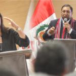 Gobernador regional entregó a ministra del MEF cartera de proyectos para ser financiados en Apurímac