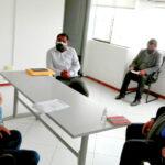 Gobernador regional y alcalde de Pacucha anunciaron reinicio de asfaltado en la vía Ramal Pacucha