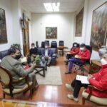 Gobernador de Apurímac y premier tratan tema de saneamiento básico integral en Valle Chumbao