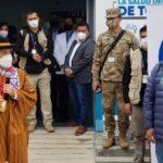 Gobernador Regional y Premier de la República inauguran Ambiente de Hospitalización Temporal en Andahuaylas