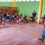 Se instaló mesa de trabajo para el proyecto de desarrollo educativo de Challhuahuacho