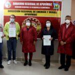GORE Apurímac y Dirección de Energía y Minas entregan 11 títulos de concesión minera