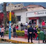 Gobierno Regional de Apurímac solicitó implementación de medidas para evitar aglomeraciones en Banco de la Nación
